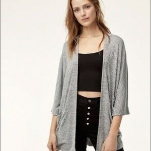 Wilfred Free Soft Grey Cardigan with Pockets!
